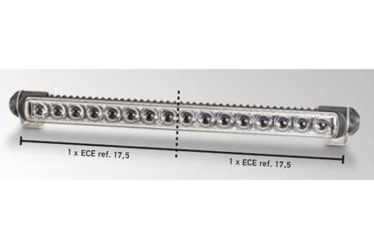 Hella tālā gaisma Ref. 2 x 17,5 Hella LED 470 Single T 12-24V 1FJ 958 130-301