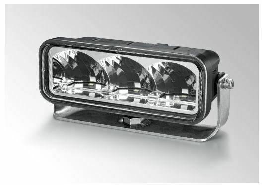 "Papildlukturi tālā gaisma Hella LED ValueFit LBE-160, ref. 12,5, 1770lm, 12-36V, 6"""