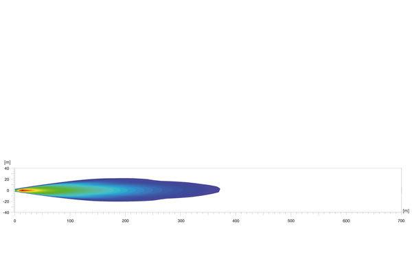 Hella tālā gaisma Ref. 2 x 17,5 Hella LED 470 Single T 12-24V 1FJ 958 130-301