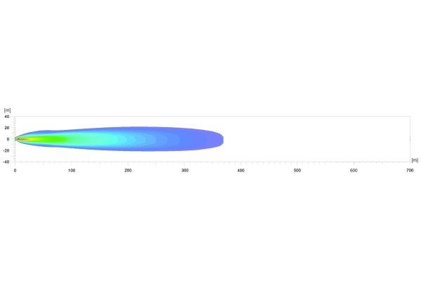 LED tālā gaisma Ref. 37,5 Hella DLB-540  1FJ 360 002-502
