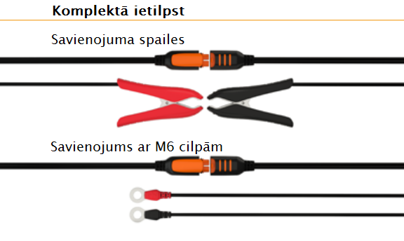 Akumulatoru lādētājs CT5, Start/Stop 3,8A 12V IP65 40-107