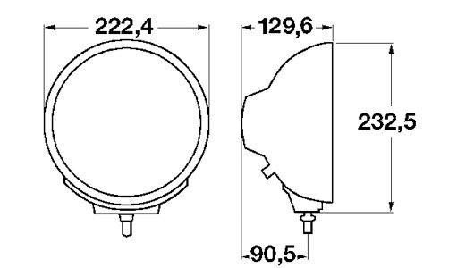 Luminator Chromium, tālā gaisma (Ref. 37.5) 1F8 007 560-311