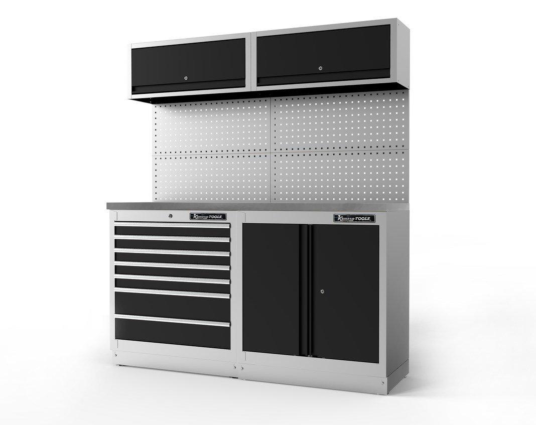 Servisa mēbeles, 2 moduļu, met. virsma K11340