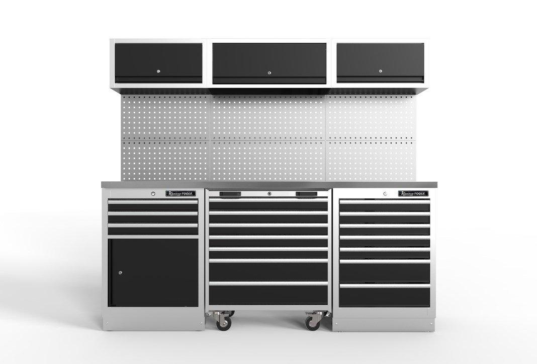 Servisa mēbeles,3 moduļu, met. virsma K11360