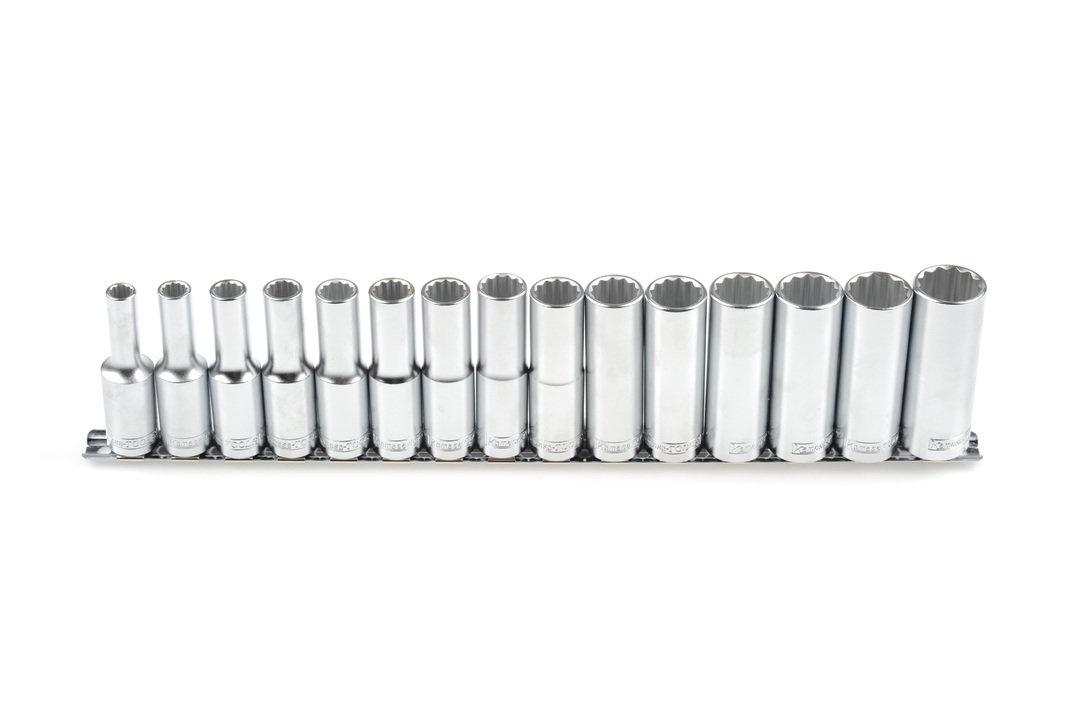 Muciņu kompl. 1/2 15gab. 8-22 mm (garās) K24903