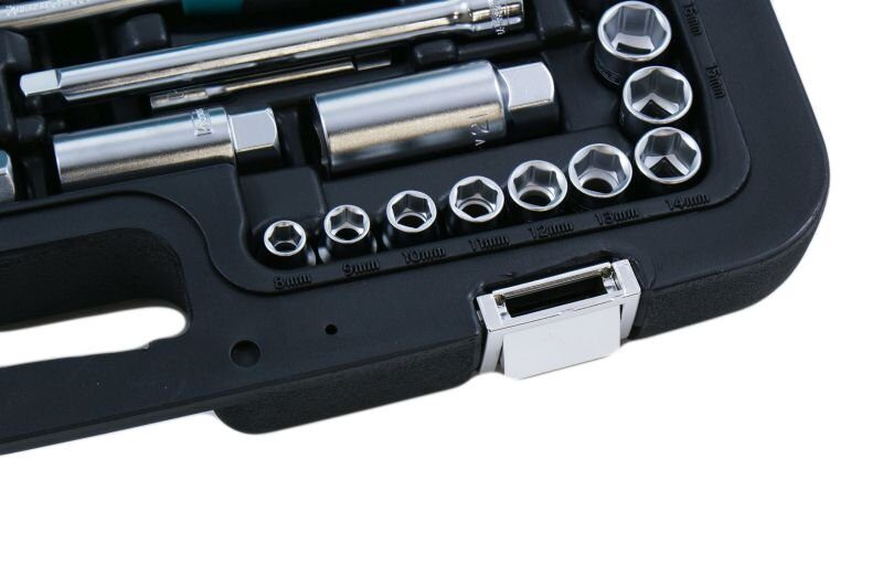 "Kamasa tools instrumentu kompl. 3/8""1/2""1/4"" 166 gab. K25018"
