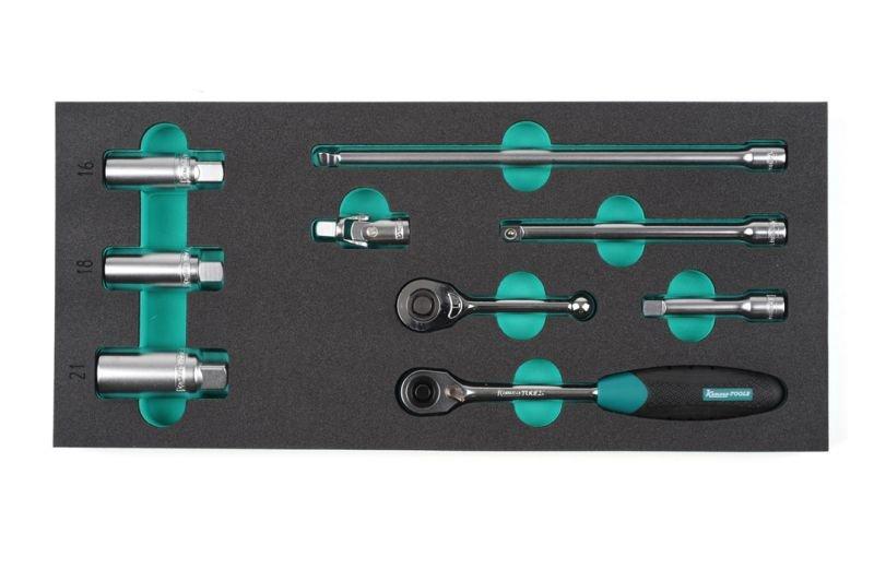Instrumentu rati Izstrum. rati ar 10 atvilktnēm K7647