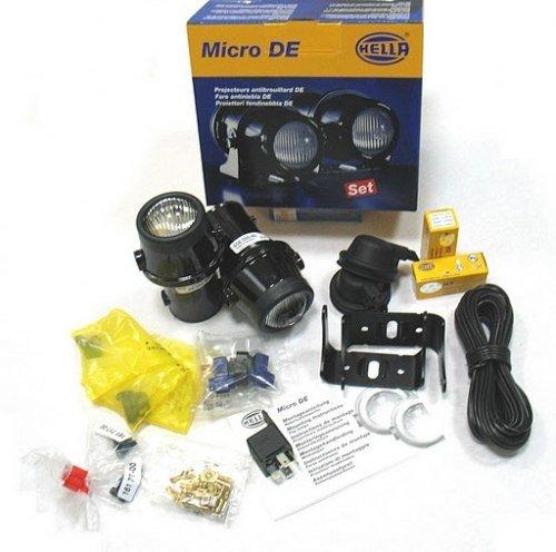 Micro DE, miglas lukturis. Komplekts 1NL 008 090-821