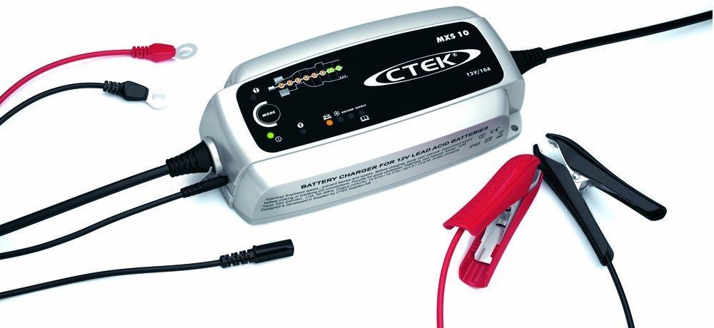 Akumulatoru lādētājs CTEK MXS 10, 12V, max 10A 56-843