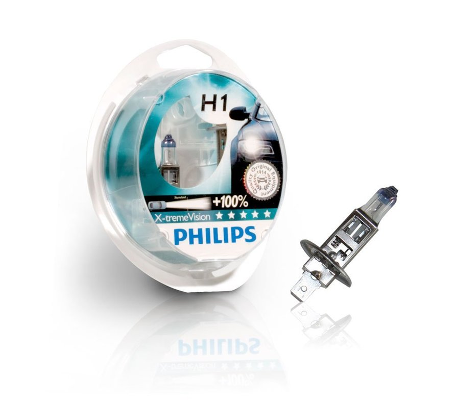 Philips X-tremeVision 130% H1 (kompl.)