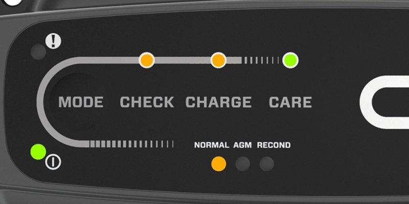 Akumulatoru lādētājs CT5, Powersports 2,3A