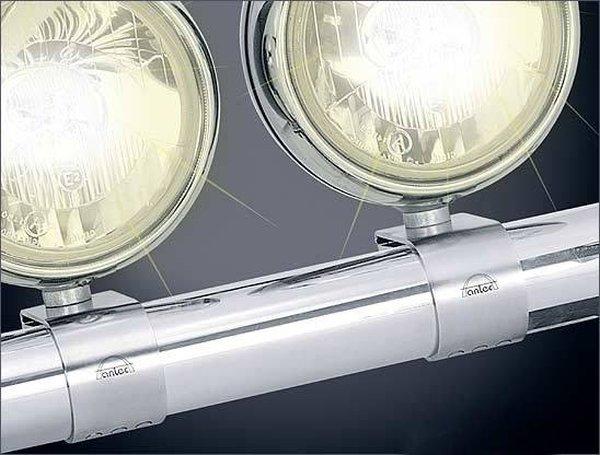 Lukturu stiprinājums pie dugas. Diam. 76 mm