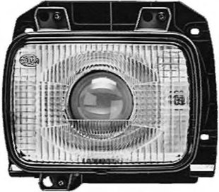 Lukturi, priekšējie Hella, 1BL 005 740-091