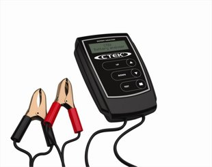 Akumulatoru pārbaudes testeris (EU stand.)