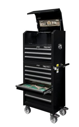 Instrumentu rati ar 10 atvilktnēm 419 instrumenti K7648