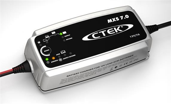Akumulatoru lādētājs CTEK MXS 7.0, 12V, max 7A 56-754